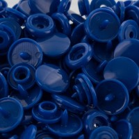 10 Boutons pression KAM Bleu pétrole Taille 12.4 mm