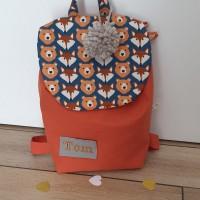 sac à dos enfant maternelle ou crèche, personnalisable avec prénom brodé , cadeau anniversaire, Naissance , Baptême