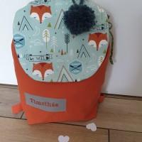 sac à dos enfant maternelle ou crèche, sac à dos personnalisable avec me prénom brodé , cadeau anniversaire, Naissance , Baptême