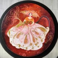 Mademoiselle pétales de rose