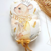 Coussin lumineux ourson