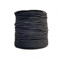 1 mètre de cordon élastique en nylon noir 0,8 mm pour perles