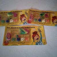 Kit bracelets brésilien  ,loisirs créatifs pour enfant