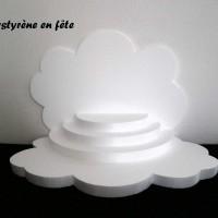 Présentoir en polystyrène  à personnaliser -  pour verrines,dragées, cupcake ,bonbons  toutes fêtes
