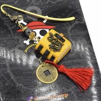 Marque-page porte bonheur Feng Shui, grimoire porte bonheur,bookmark gift,marque-page dragon chinois, signet métal coin chinois