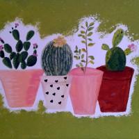 Tableau tendance cactus