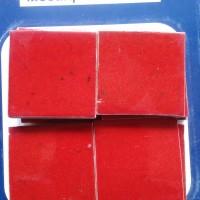 Sachet 10 pièces Mosaïque Emaillée - Rouge