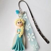 Grand marque-pages Reine des neiges, Elsa