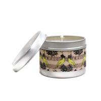 Bougie Parfumée Parfum au Choix 100 gr pour 25 Heures Notes de Musique Parfum Ambiance Maison Bougie Naturelle Artisanale Vegan aromathérapie
