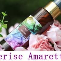 Parfum d'Ambiance Cerise Amaretto Senteur Gourmande 100 Ml Spray d'ambiance Brume Parfumée Désodorisant Maison Diffuseur de Parfum d'intérieur
