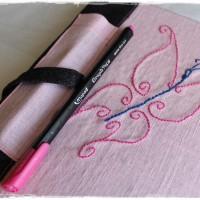 Cahier artisanal DOTS + feutre