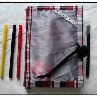 Carnet créatif artisanal calavera et feutres