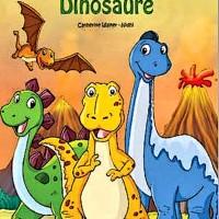 livre à personnaliser au prénom -Dinosaure Dinosaure- 2 à 8 ans