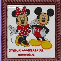 Mickey et Minnie anniversaire