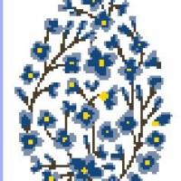 Oeuf en fleurs