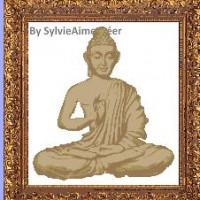 Bouddha lotus