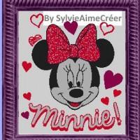Minnie en coeur
