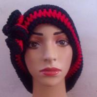 bonnet large femme coton