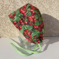 Calot chirurgical, chapeau de bloc en tissu coton motif