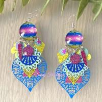 Boucles d?oreilles «Tahiti»