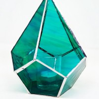 Terrarium Bleu-vert