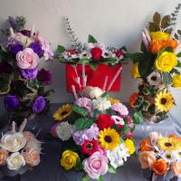 Composition de fleurs en