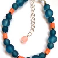 Bracelet boules givrées - divers coloris