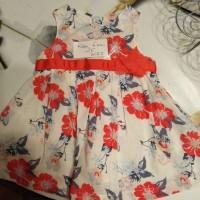 robe à fleurs taille 6 mois