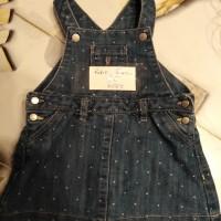 robe en jean obaibi taille 6 mois