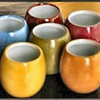 Petits pots à tapas en porcelaine