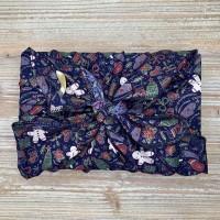 Furoshiki - Emballage cadeau en tissu (Noël)
