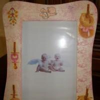 Cadre photo pour chambre de bébé