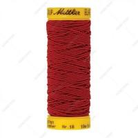 Fil élastique mettler rouge