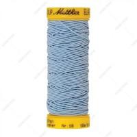 Fil élastique mettler bleu clair