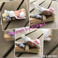 Bonnets miniatures pour bébé fimo