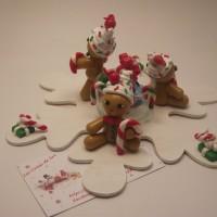 Déco de table de Noël avec ses bonhommes pain d'épice