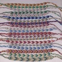 Lot de 20 bracelets brésiliens différents modèle chevron
