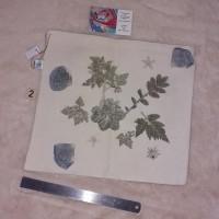 Sacs cadeaux empreintes végétales