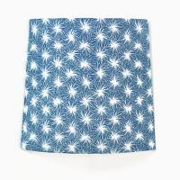 Applique murale d'angle murale motif japonais bleu futon