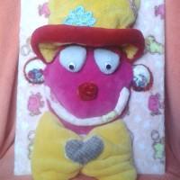 Cadre doudou clown