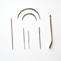 Aiguilles du bricoleur LOT 7 aiguilles sac, cuir, reprise, courbes, chenille