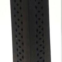 Porte encens pour bâtonnet et cône en bois dessin Ohm