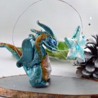 Dragon Silver à l'étoile , figurine