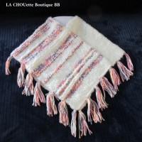 2 ANS - Poncho Fait-main - point fantaisie _ tricot aux aiguilles _