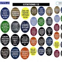 IMAGES DIGITALES  CITATIONS 13 en   18 x 25 22 x 30  30 x 40 mm