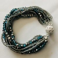 Bracelet perles Turquoise