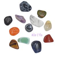 Assortiment de 12 minis pierres roulées