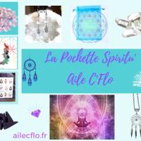 Pochette Spiritu'aile  Cristal de Roche