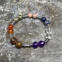 Bracelet Chakras hématites