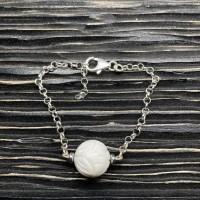 Bracelet Benitier sculpté Argent 925
